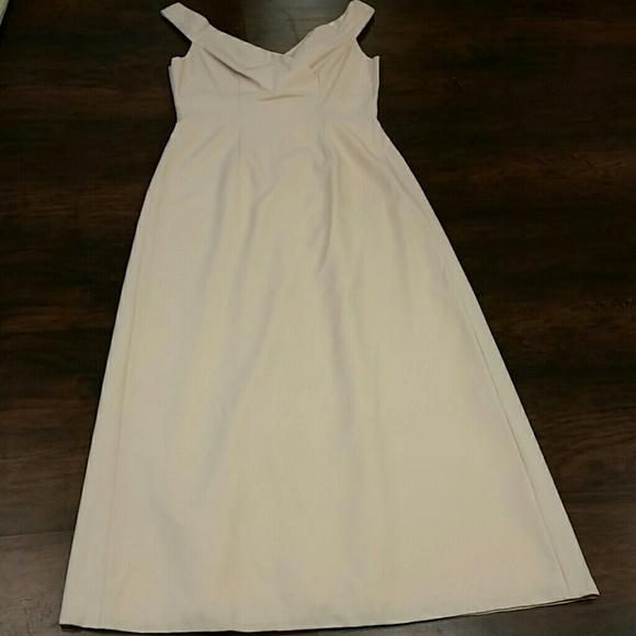 Vintage Dresses | Flash Salepale Yellow Formal Dress | Poshmark